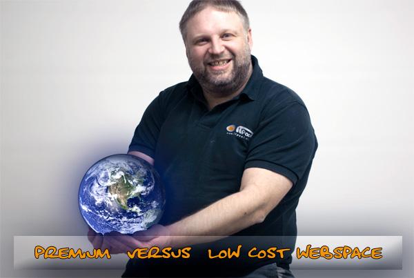 Premium versus Low-Cost Webspace