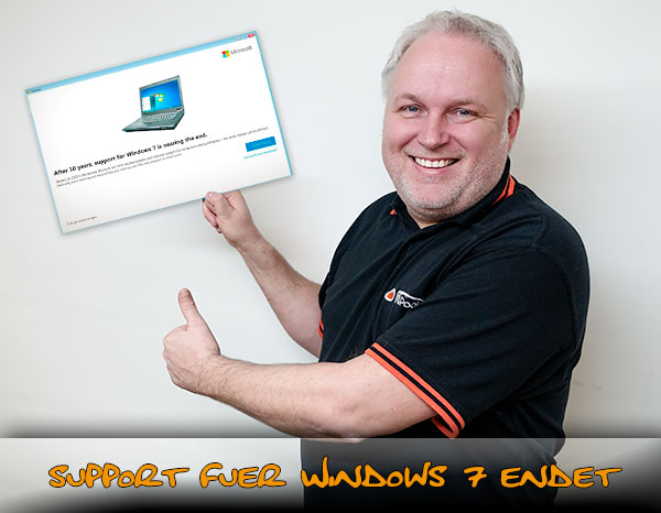 Windows 7 endet